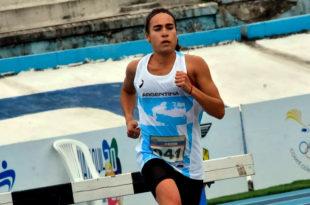 Atletismo: Belén Casetta se colgó la medalla de bronce en el Sudamericano