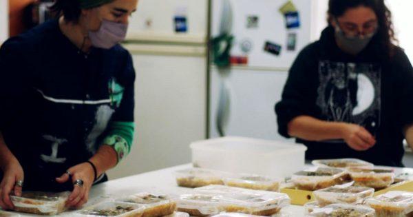 América Libre: un locro solidario y una demanda de asistencia alimentaria que crece