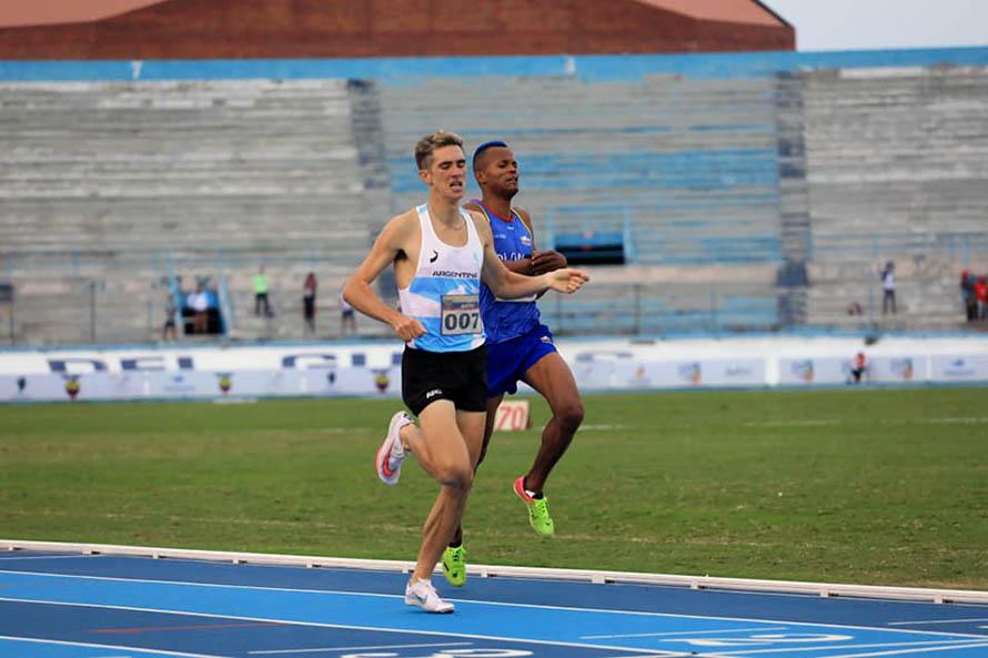 Florencia Borelli Sudamericano de Atletismo