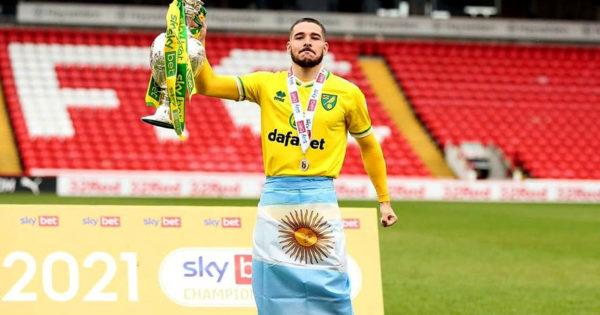 Emiliano Buendía volvió a ser campeón de la Championship inglesa con el Norwich