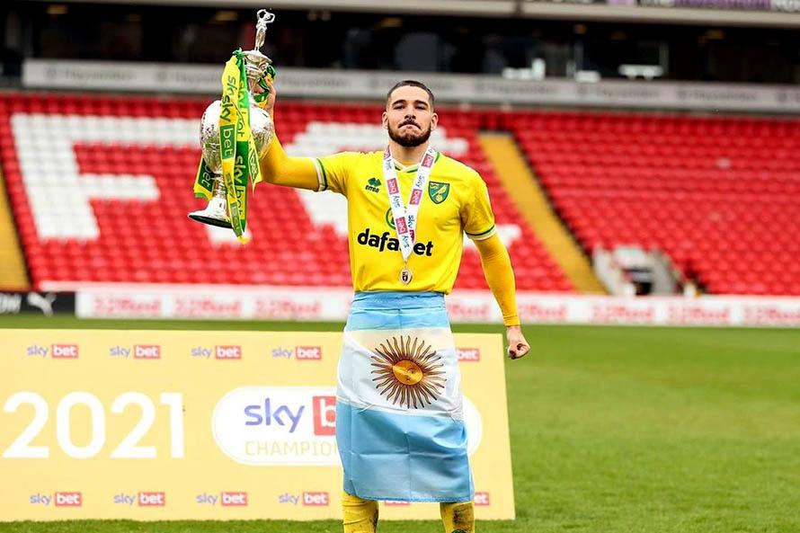 Emiliano Buendía al Aston Villa (Foto: prensa Norwich City)