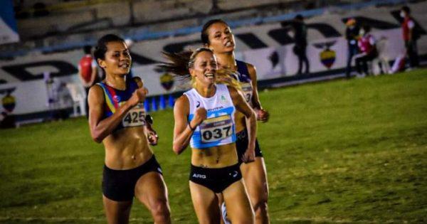 Atletismo: Florencia Borelli logró la medalla de plata en el Sudamericano - Noticias de Mar del Plata