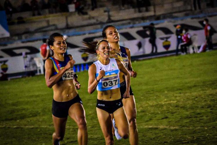 Atletismo: Florencia Borelli logró la medalla de plata en el Sudamericano