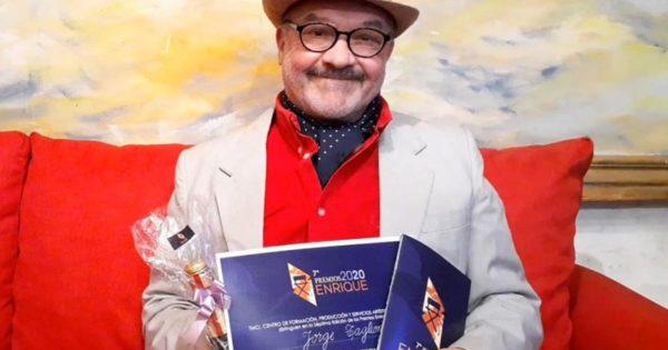 Trabajadores de la cultura despidieron con dolor al actor Jorge Taglioni
