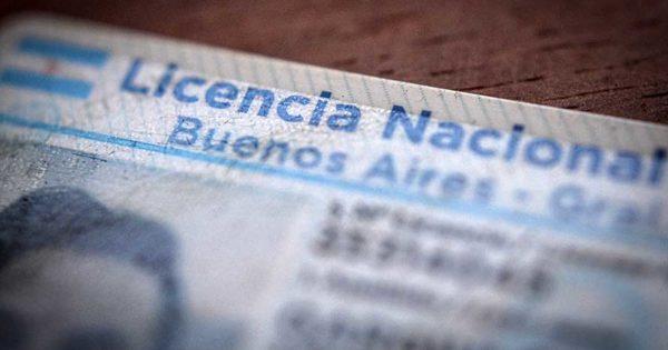 Establecieron nuevas prórrogas en los vencimientos de las licencias de conducir