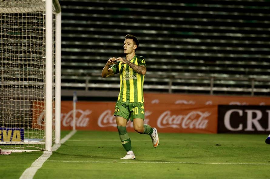 Aldosivi se despidió de su localía con errores y una derrota ante Argentinos Juniors