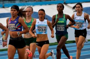 Atletismo: Mariana Borelli obtuvo la medalla de bronce en el Sudamericano