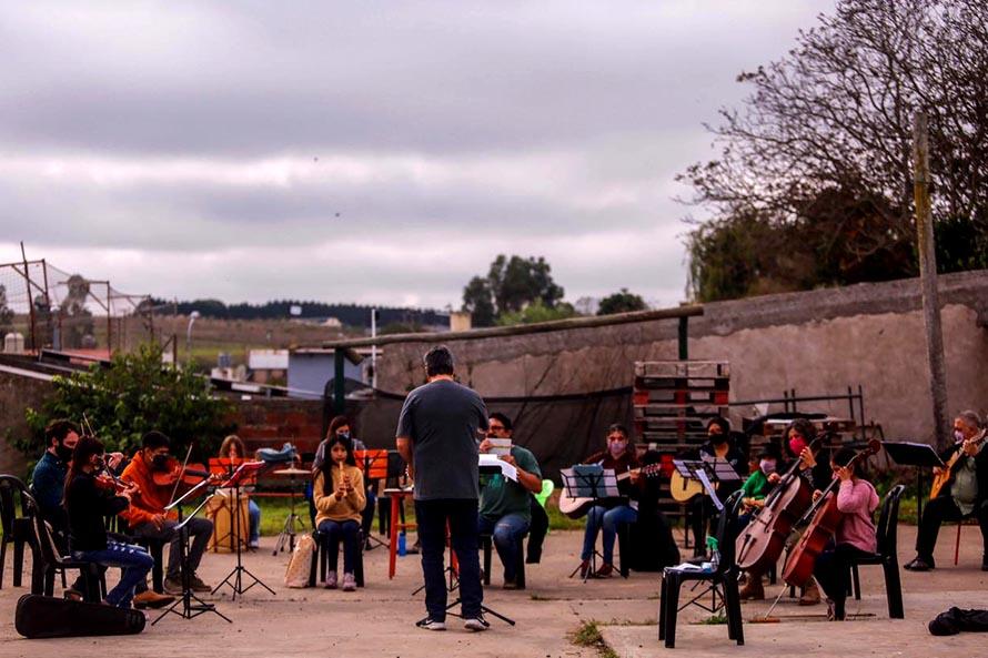 La Orquesta Infanto Juvenil retoma los ensayos presenciales