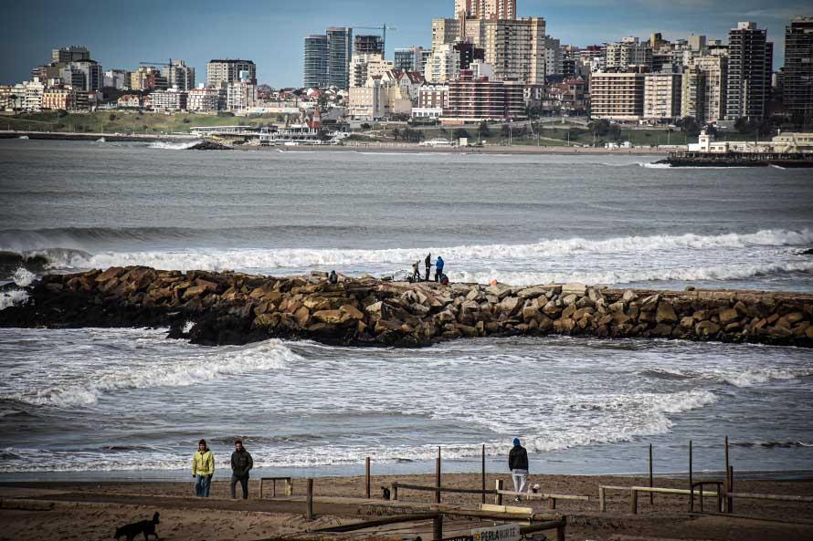 Feriado con nubes y semana con máximas de 18°: el pronóstico para Mar del Plata
