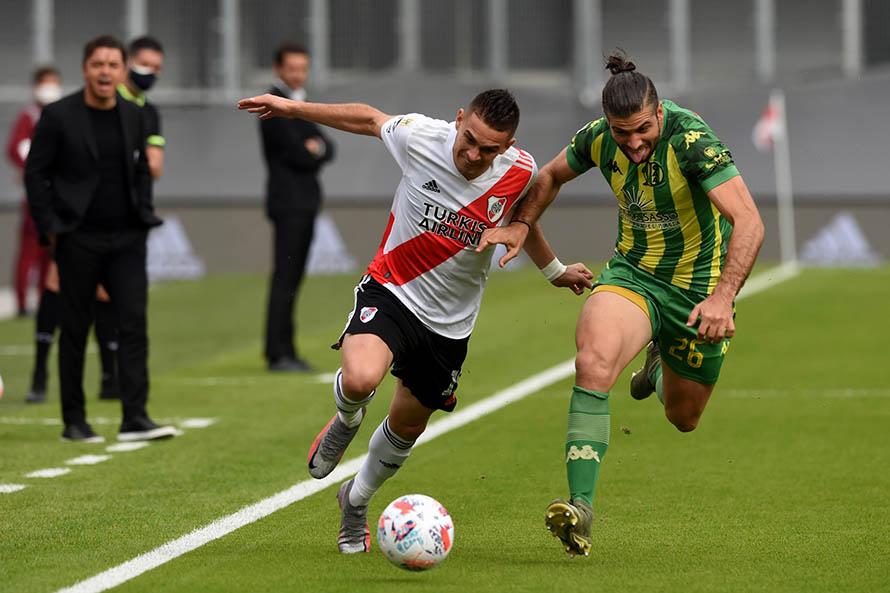 River no perdonó, goleó a Aldosivi y clasificó a los cuartos de final