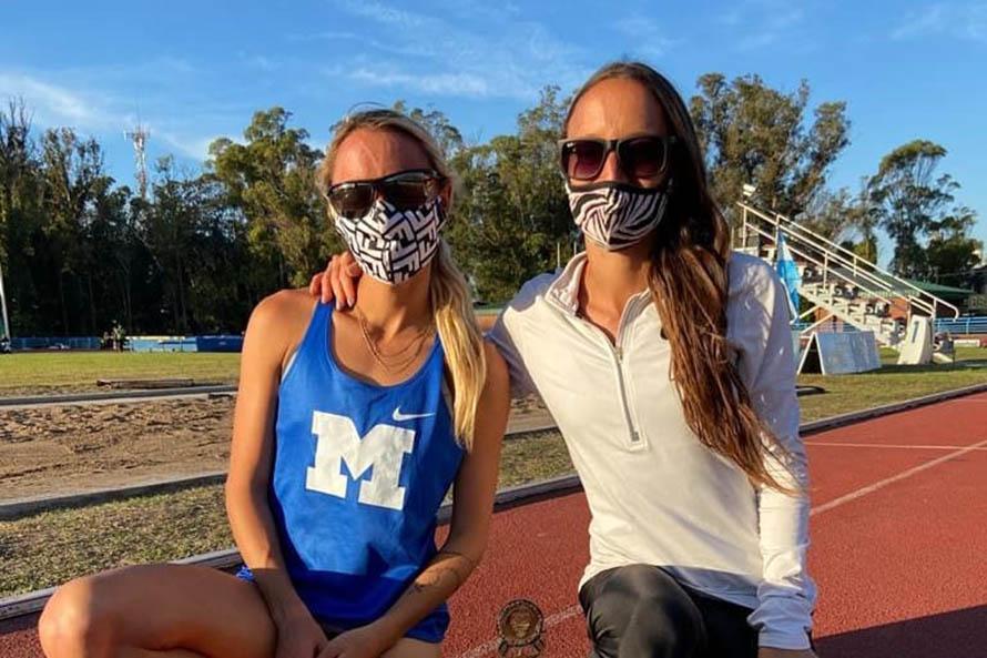 Atletismo: más récords de las hermanas Borelli, ahora en milla y 5.000 metros