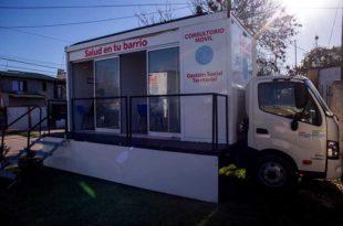 """Salud en tu barrio"": ponen en marcha un dispositivo sociosanitario, móvil e itinerante"