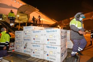 Coronavirus: llegaron al país otras 500 mil dosis de la vacuna Sputnik V