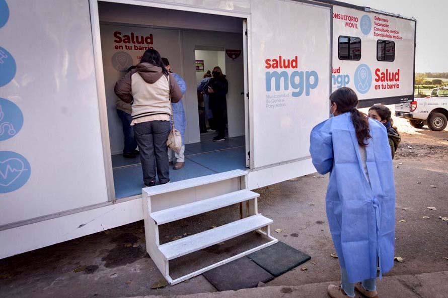Coronavirus: el móvil de testeo se traslada este viernes al barrio Pueyrredon