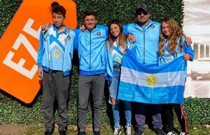 Juana Escalante campeonato europeo de optimist yachting Foto Club Nautico
