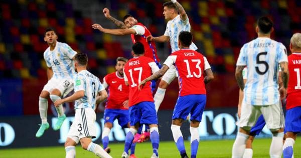 Eliminatorias: Argentina no pasó del empate frente a Chile