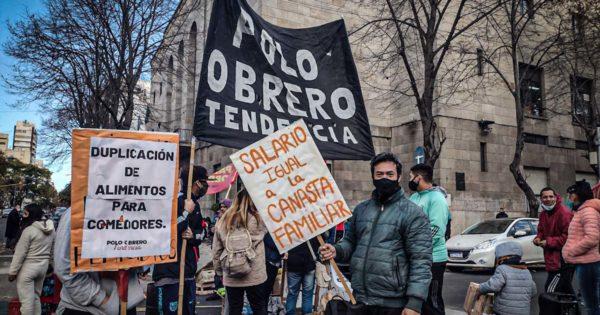 Nuevo reclamo frente a la Municipalidad por alimentos para comedores de Mar del Plata