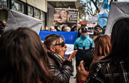 PROTESTA EN CONTRA Y APOYO JUEZ LÓPEZ ABORTO -1463