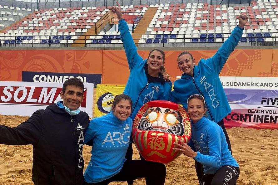 Beach Vóley: con la marplatense Cecilia Peralta, Argentina clasificó a los Juegos Olímpicos