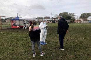 Coronavirus: hubo 21 casos positivos en la jornada de testeo de Malvinas Argentinas