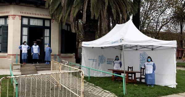 Coronavirus: comienza a funcionar un nuevo centro de testeo en Mar del Plata