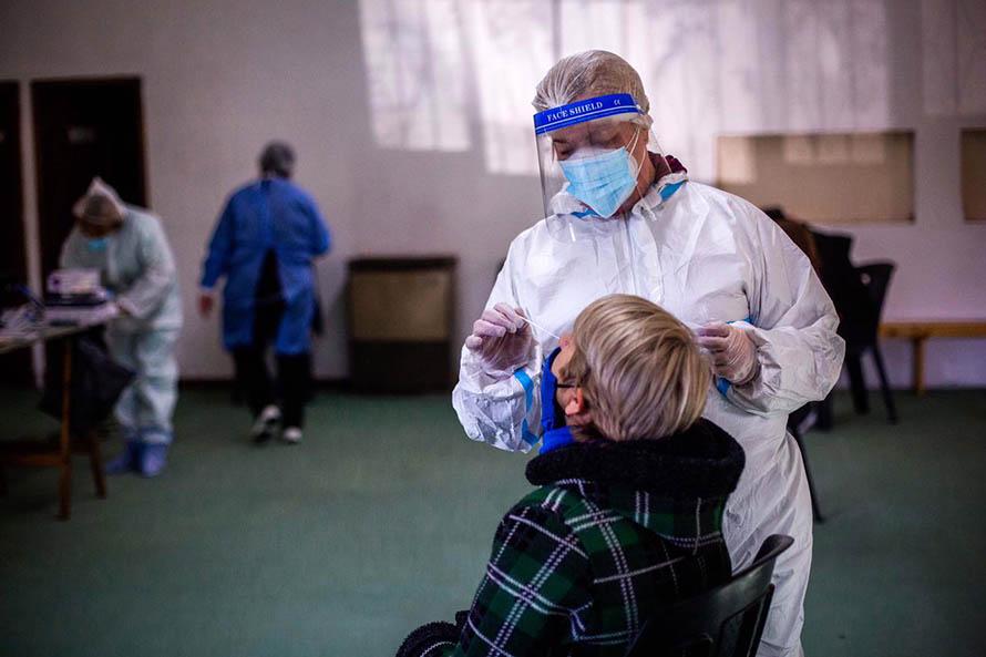 Coronavirus: jornadas de testeos en los barrios Pampa y Santa Rosa del Mar