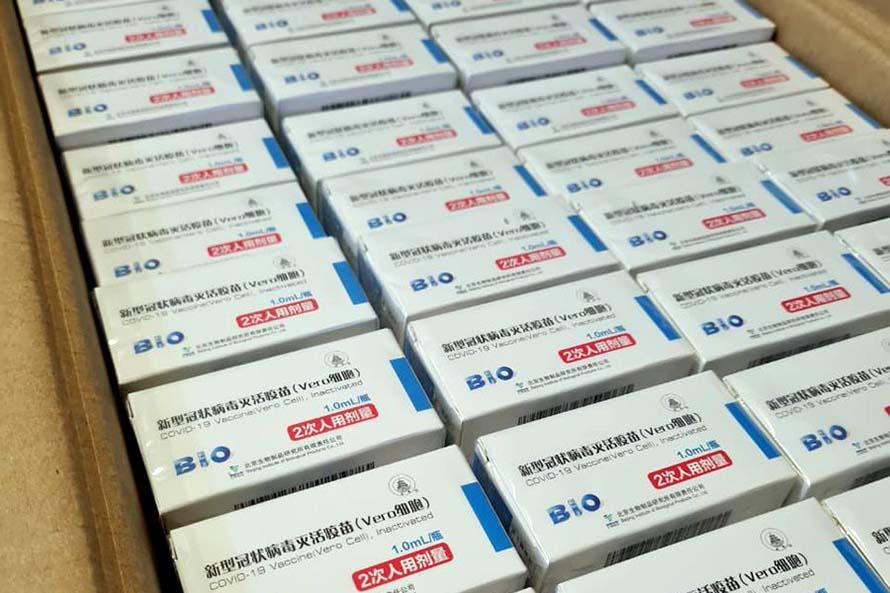 Durante la semana llegarán más de 30 mil dosis de Sinopharm a Mar del Plata