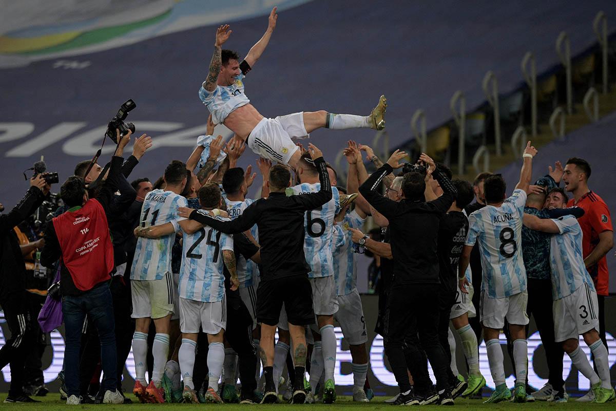 Tras 28 años, la sequía de títulos de Argentina quedó atrás de la mano de Messi