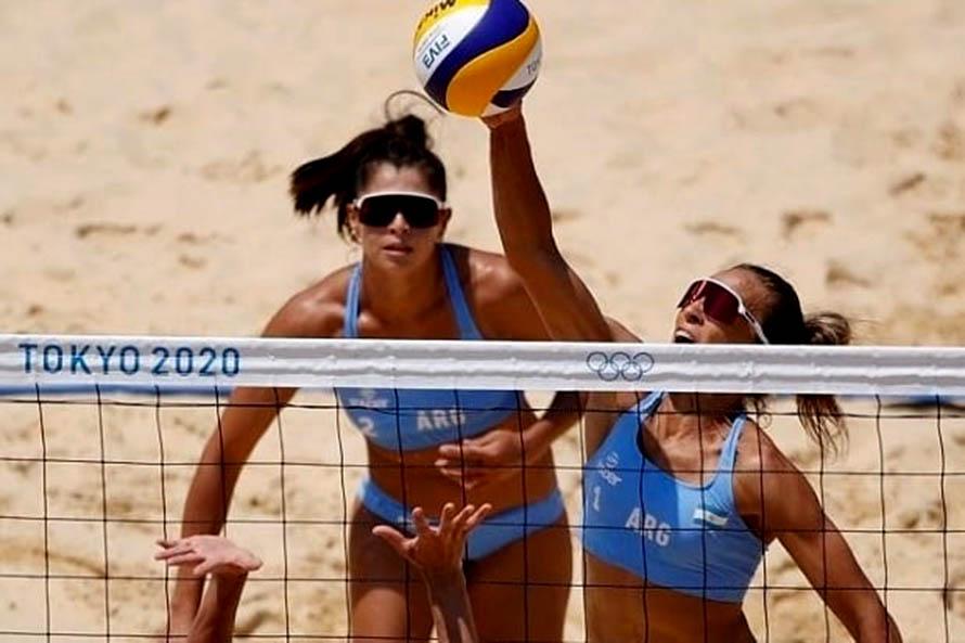 Beach Vóley: Gallay y Pereyra se despidieron de los Juegos Olímpicos