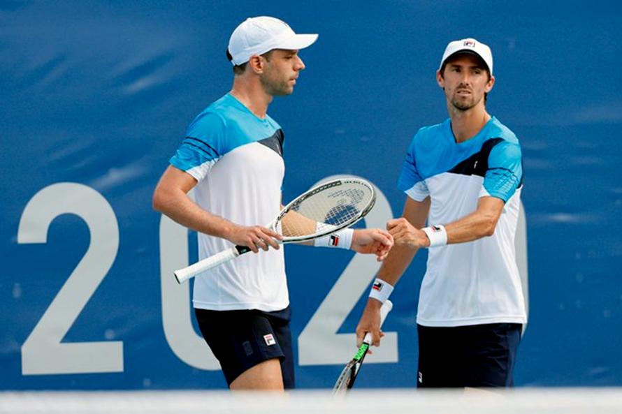 Zeballos y Molteni tuvieron chances pero no lo liquidaron en su debut olímpico