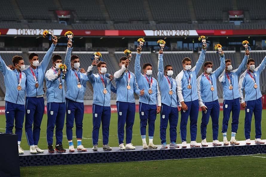Los Pumas '7 lograron la primera medalla para Argentina en los Juegos Olímpicos