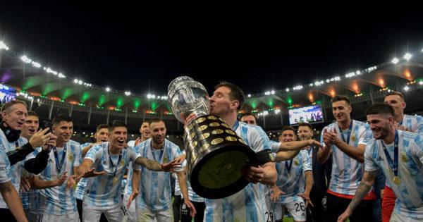 Argentina se abrazó a la gloria y salió campeón de la Copa América