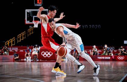 Luca Vildoza Argentina Japon Juegos Olimpicos Tokio Foto FIBA