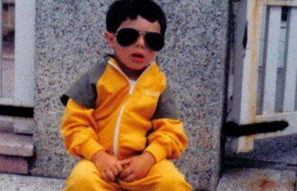 Matias Moscardi niño