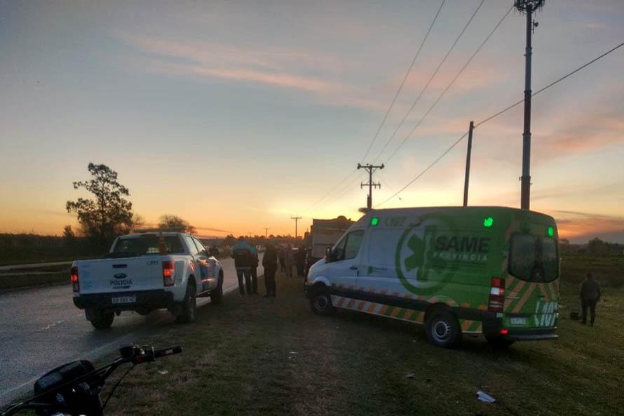 Una mujer murió atropellada y el conductor del auto huyó del lugar: fue detenido