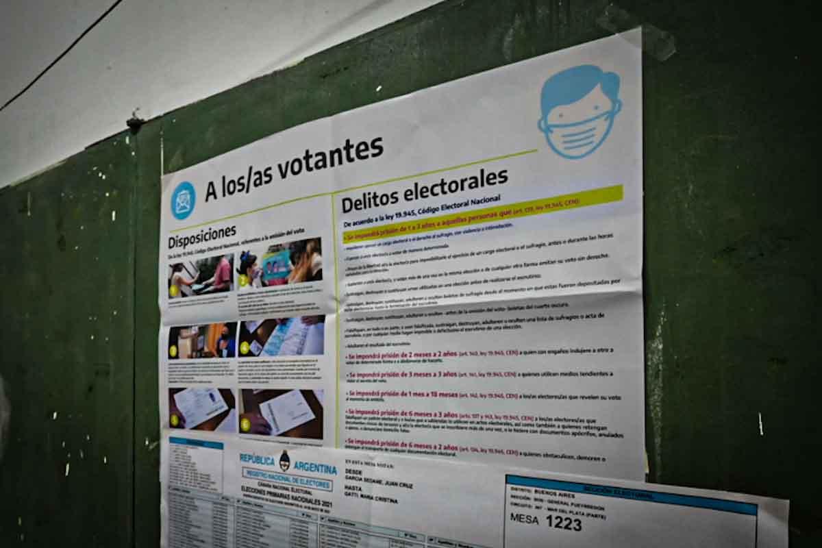 Una página web para realizar denuncias por infracciones durante las elecciones