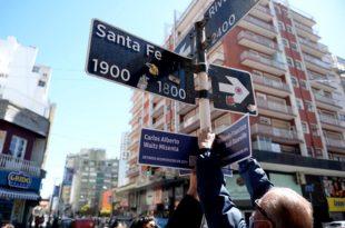 """""""Esquinas con memoria"""": otro recorrido y la restauración de la placa a Gregorio Nachman"""