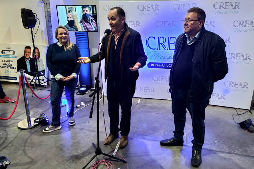 Crear duplicó el piso y también competirá en las elecciones de noviembre