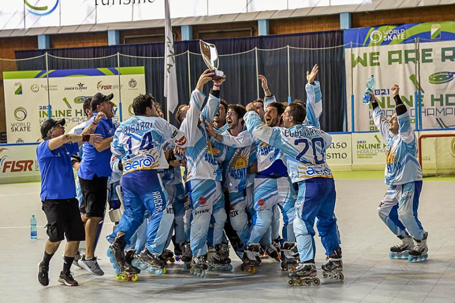Marplatenses se destacaron en el Mundial de Roller Hockey en Italia