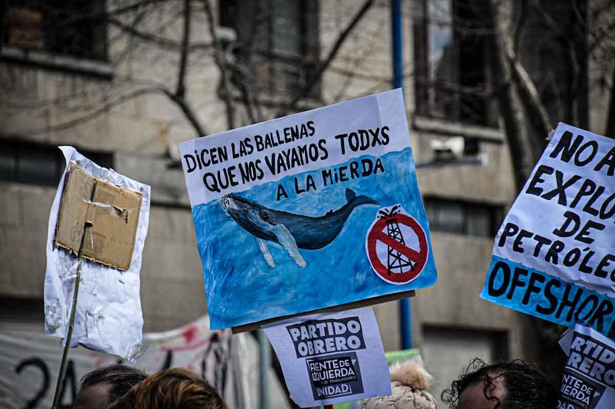 """Rechazo al proyecto de ley de Hidrocarburos: """"Destruirá los ecosistemas marinos"""""""