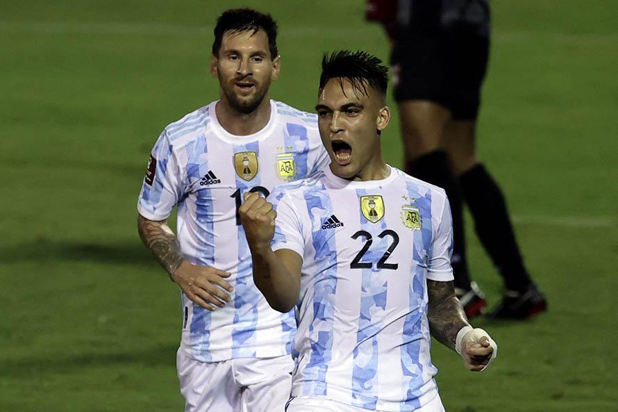 En el arranque de la triple fecha, Argentina derrotó sin problemas a Venezuela