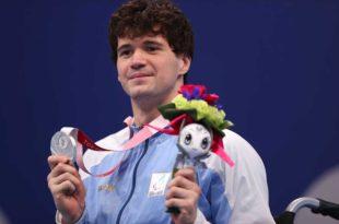 Histórica medalla plateada para Matías De Andrade en los Juegos Paralímpicos