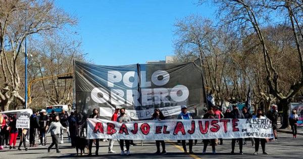 Jornada de protestas en Mar del Plata por empleo, alimentos y asistencia habitacional