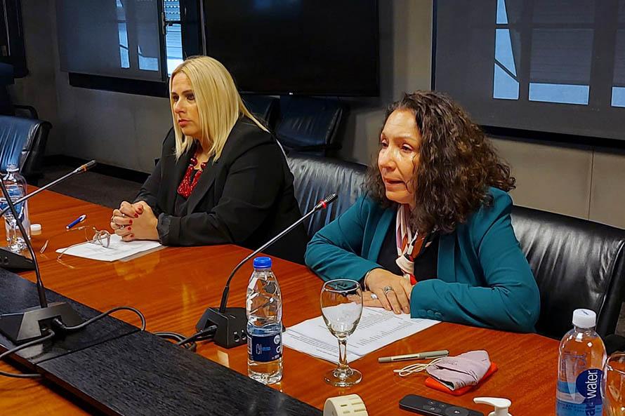 Espionaje ilegal: Caamaño se reunió con familiares de víctimas del ARA San Juan